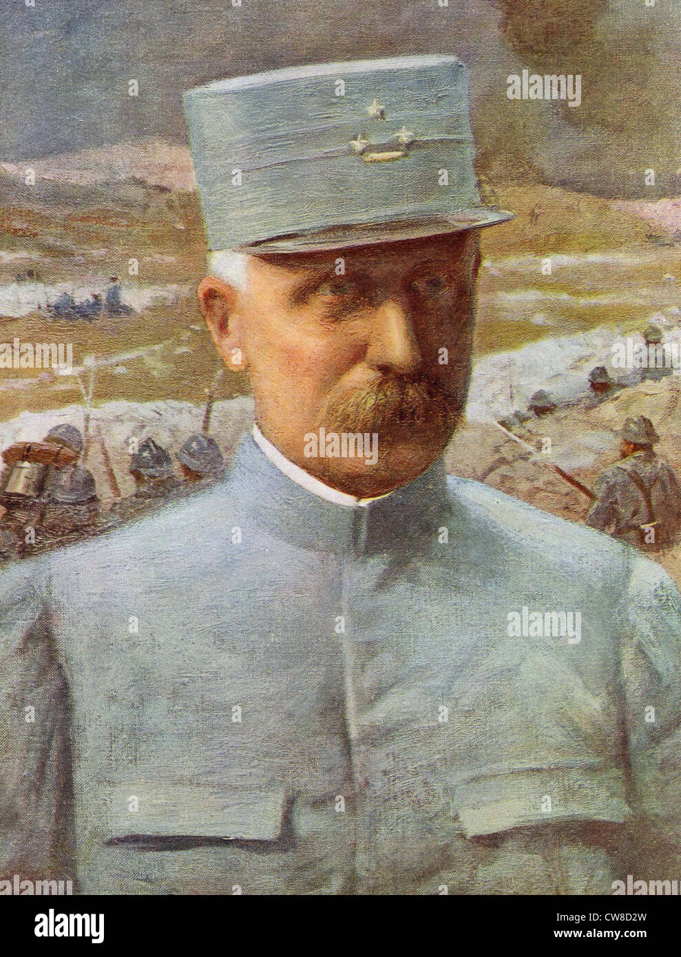 General Pétain - Stock Image