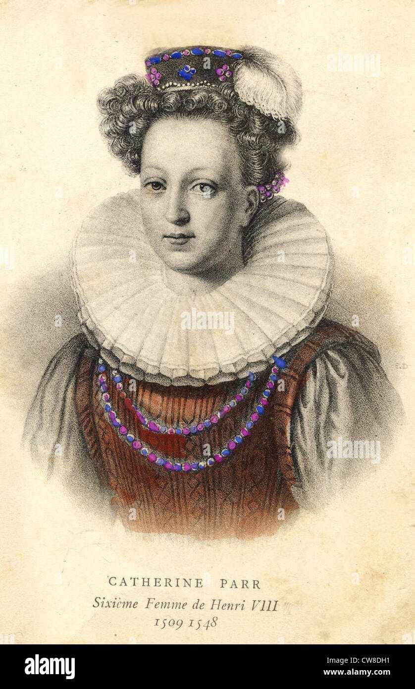Catherine Parr - Stock Image