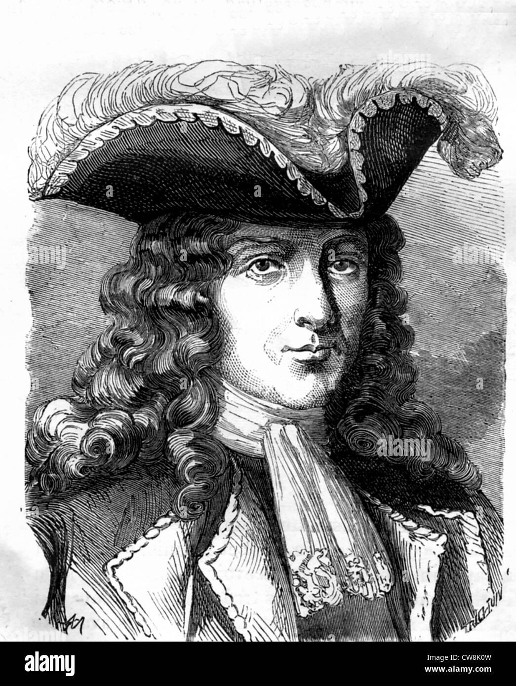 Jean Bernard de Pointis - Stock Image