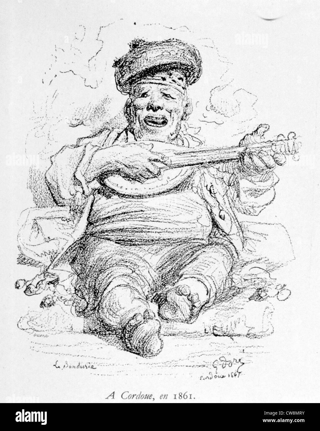 Gustave Doré, portraits - Stock Image