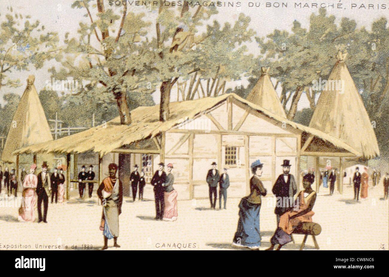 1889 World's Fair - Stock Image
