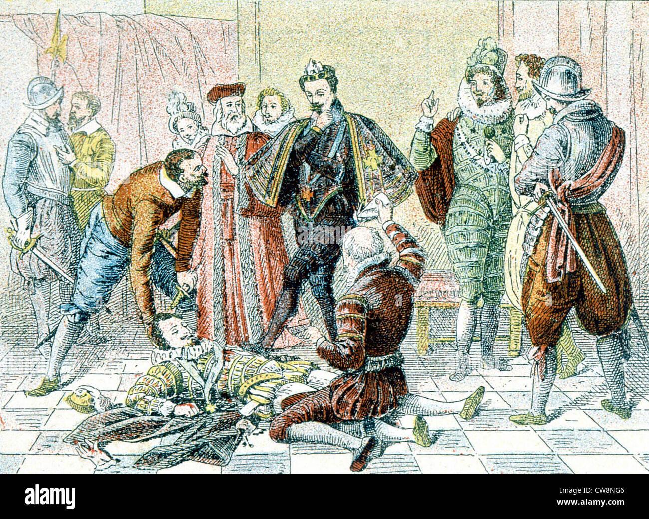 Duke of Guise, illustrations - Stock Image