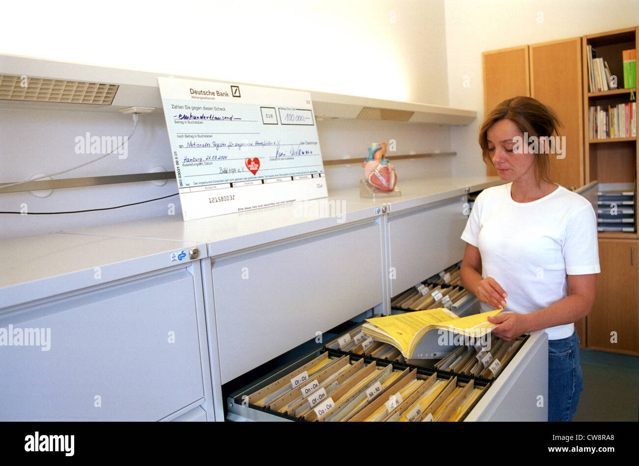 Berlin, Competence Network for Congenital Heart Defects - Stock Image