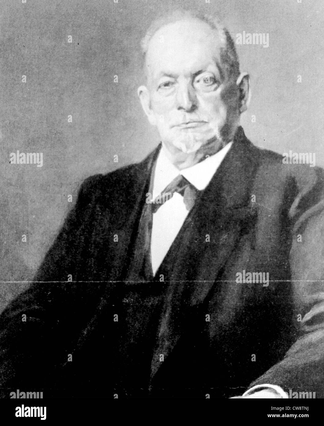 Mr. Auguste Thyssens - Stock Image