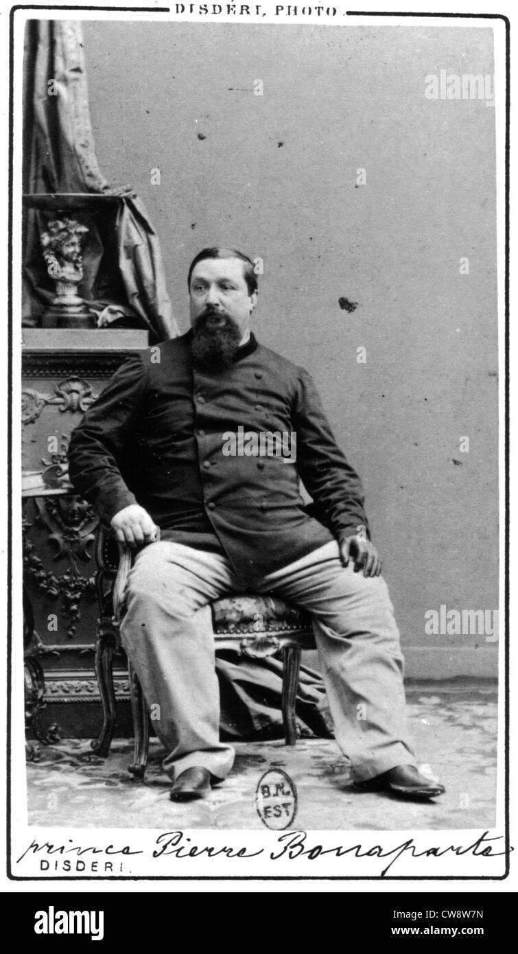 Prince Pierre Bonaparte - Stock Image