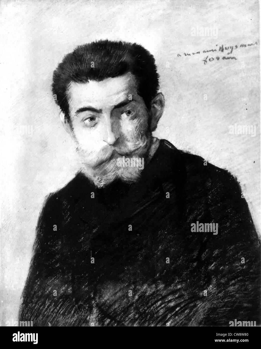 Joris-Karl Huysmans - Stock Image