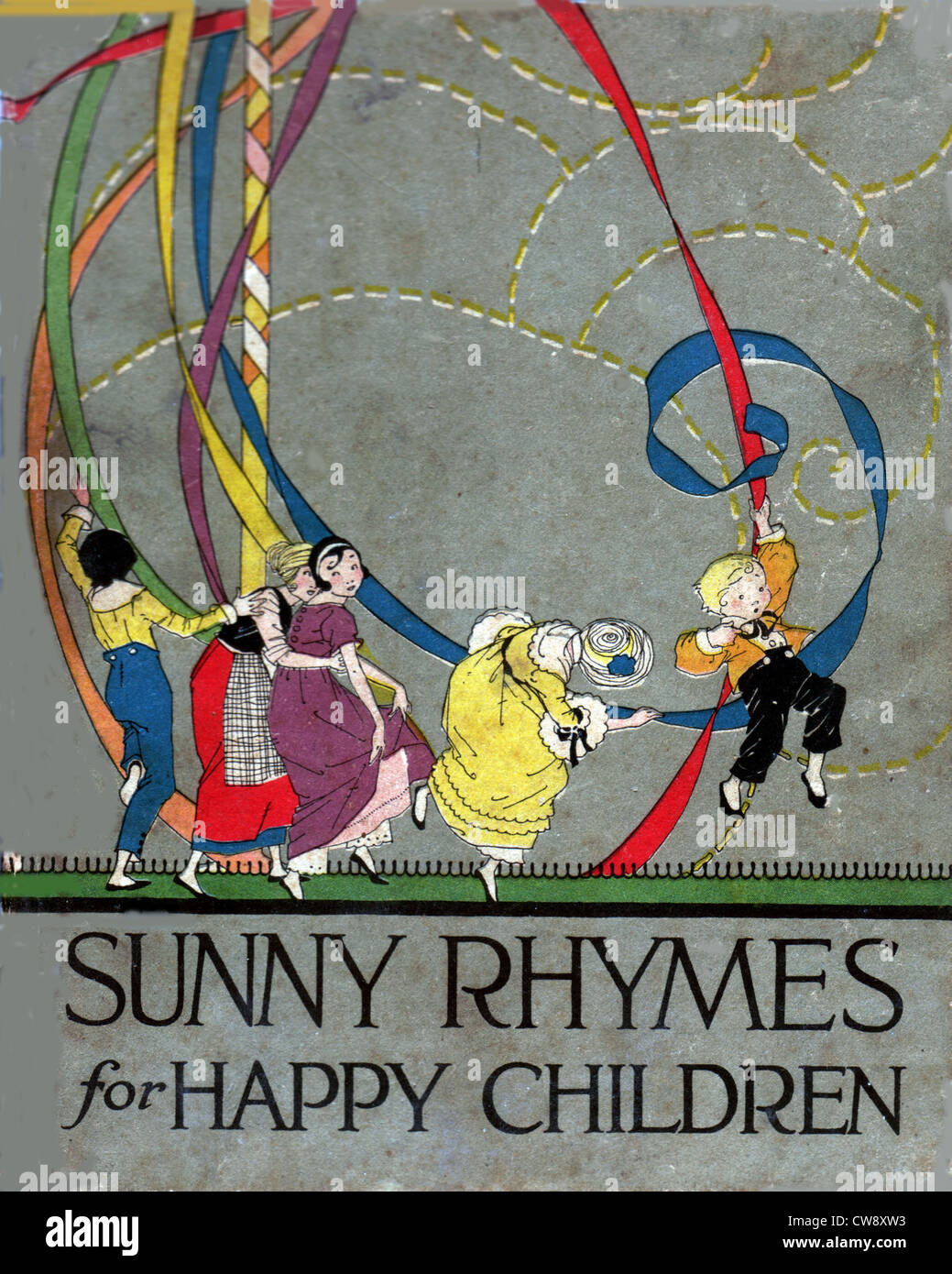 Rhymes Olive Beaupre Miller: 'Sunny rhymes happy children' - Stock Image