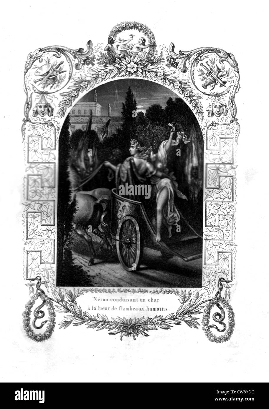 Emperor Nero - Stock Image