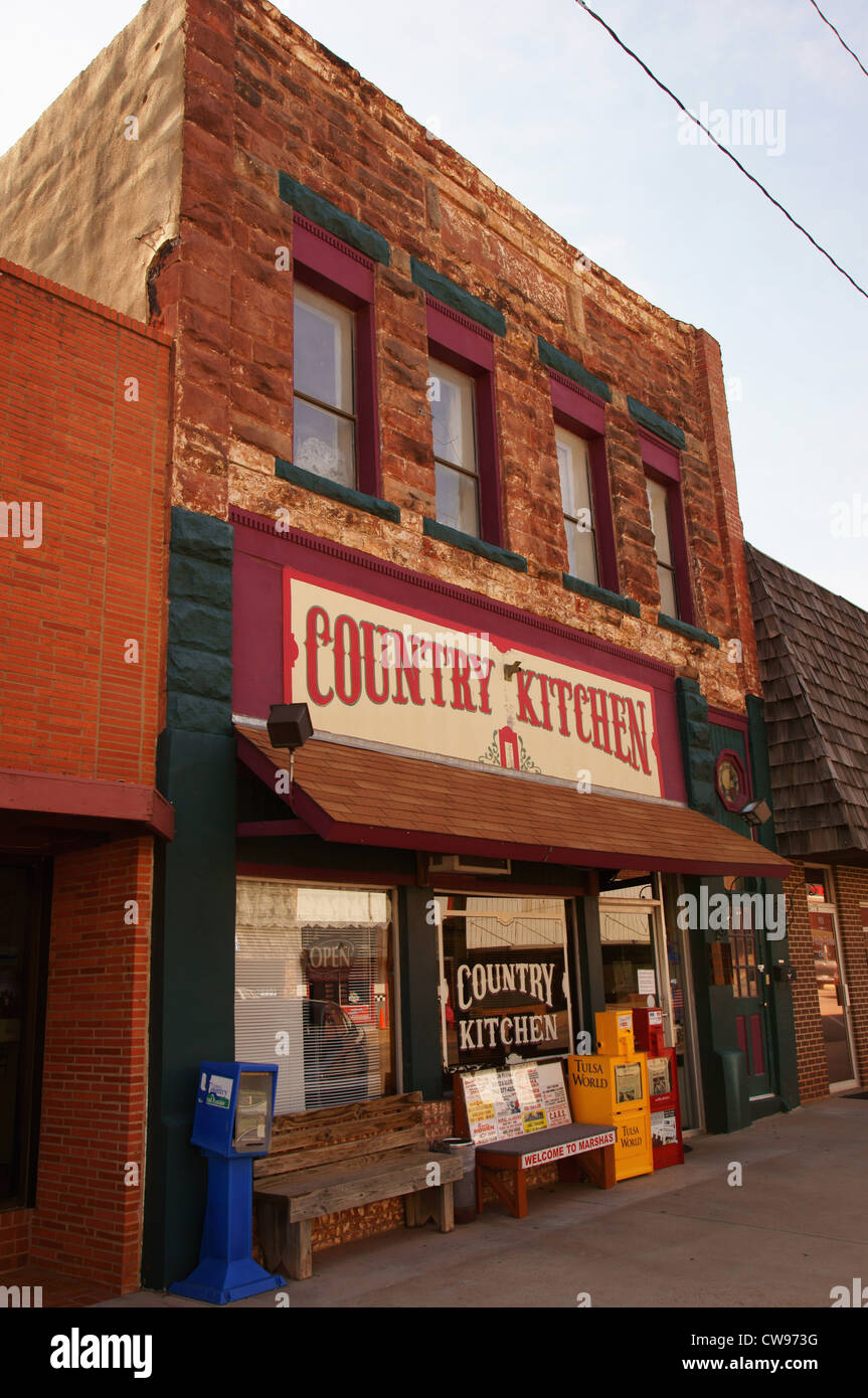 Country kitchen restaurant chandler ok attraction attractions route 66 cafe eats eatery bistro cafeteria diner
