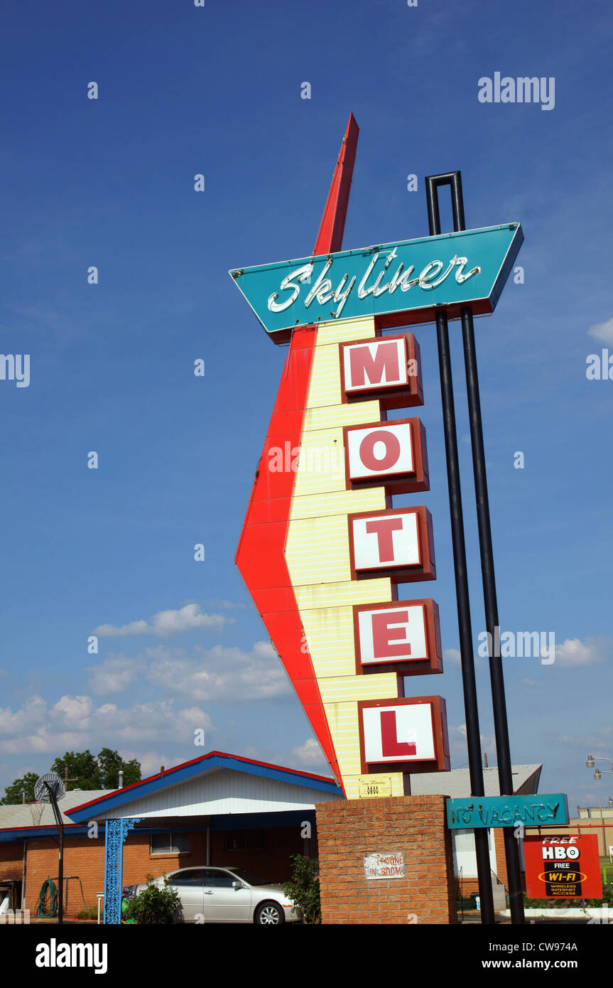 skyliner motel stroud ok attraction route 66 will rogers highway ...