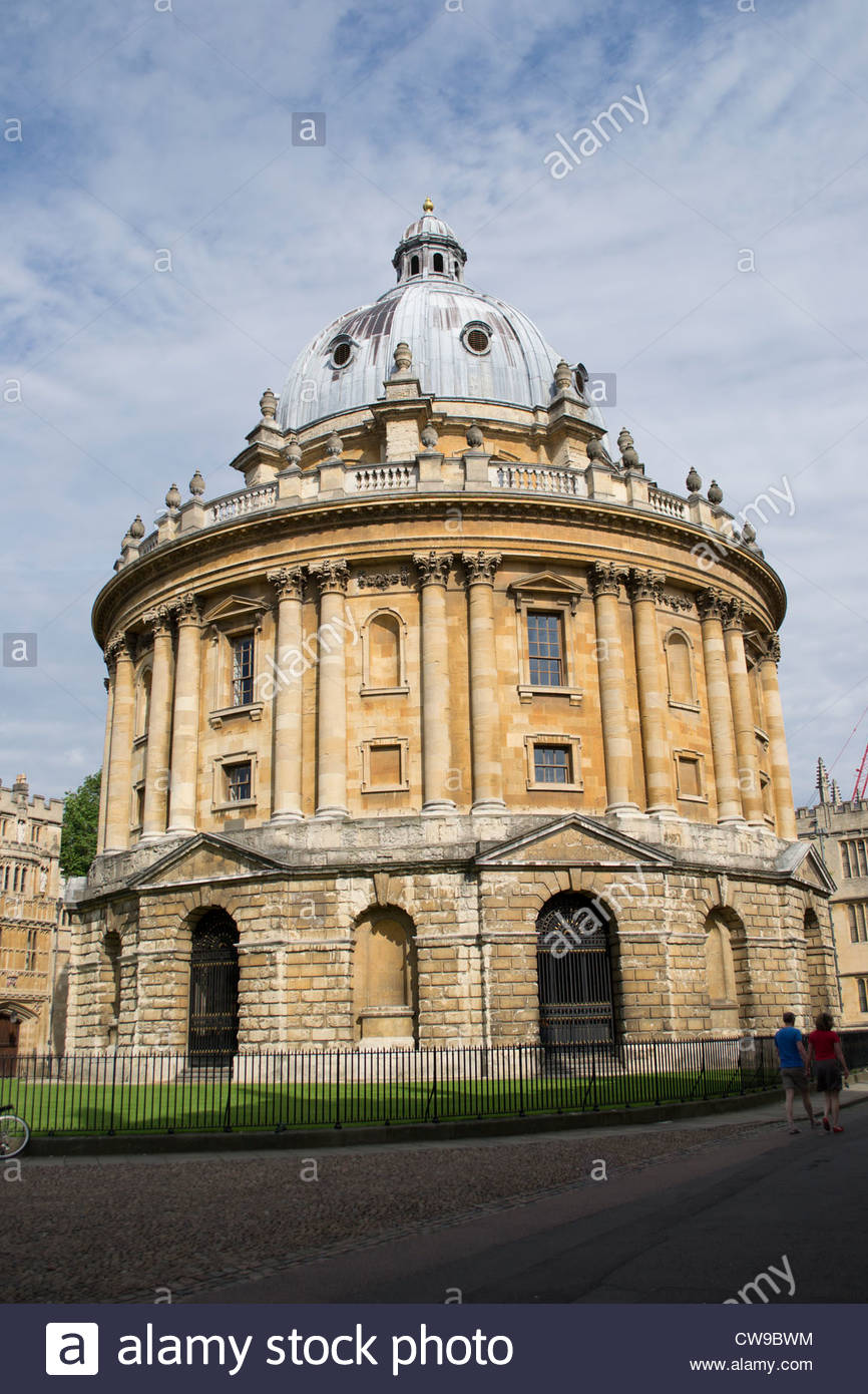 The Radcliffe Camera, Oxford, part of the Bodleian Library Stock Photo
