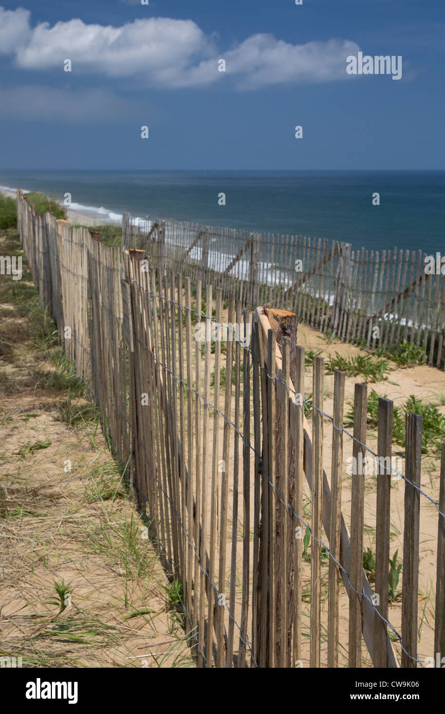 Wellfleet, Massachusetts - Marconi Beach in Cape Cod National Seashore. - Stock Image