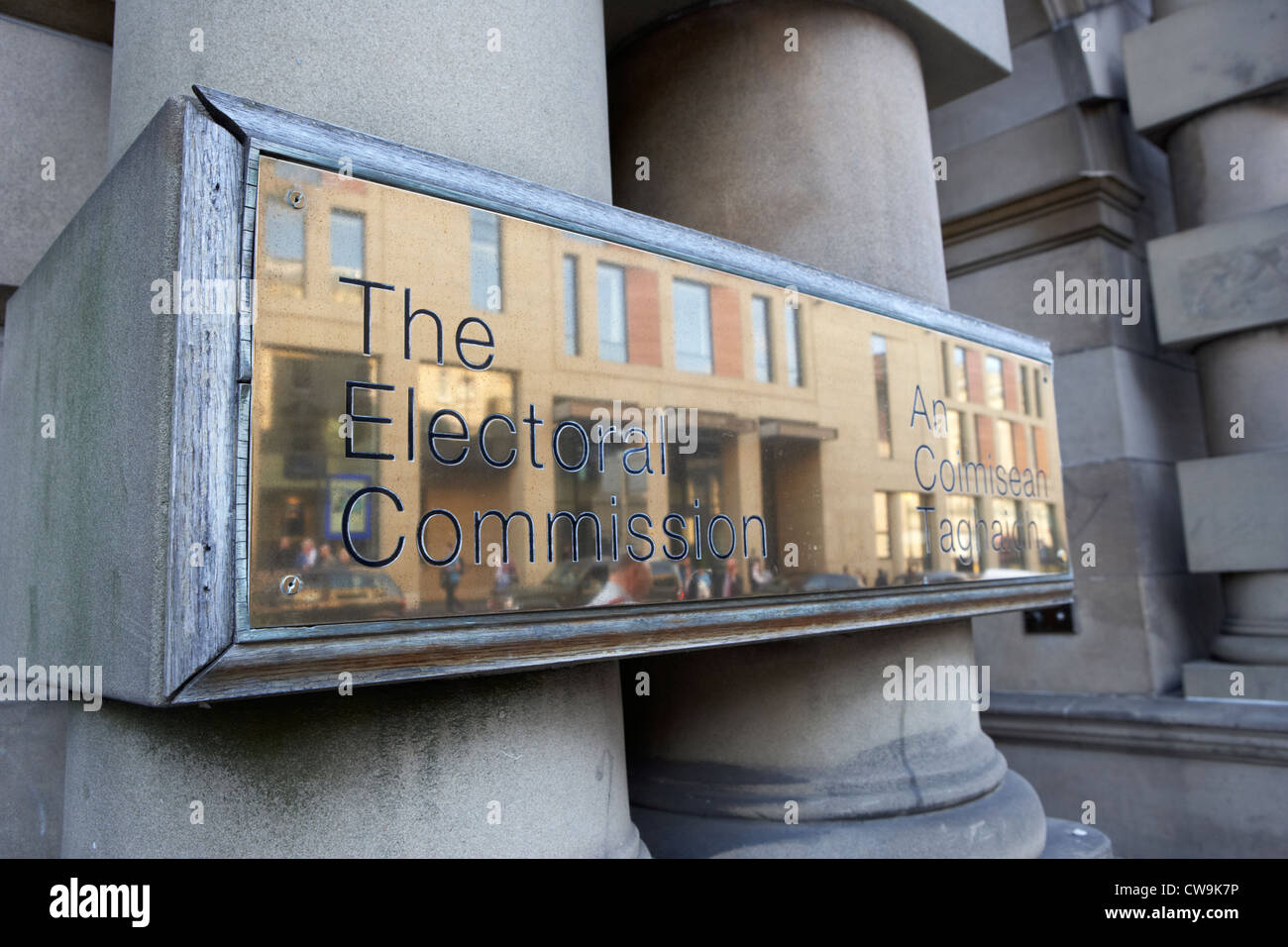 the electoral commission an coimisean taghaidh edinburgh scotland uk united kingdom Stock Photo