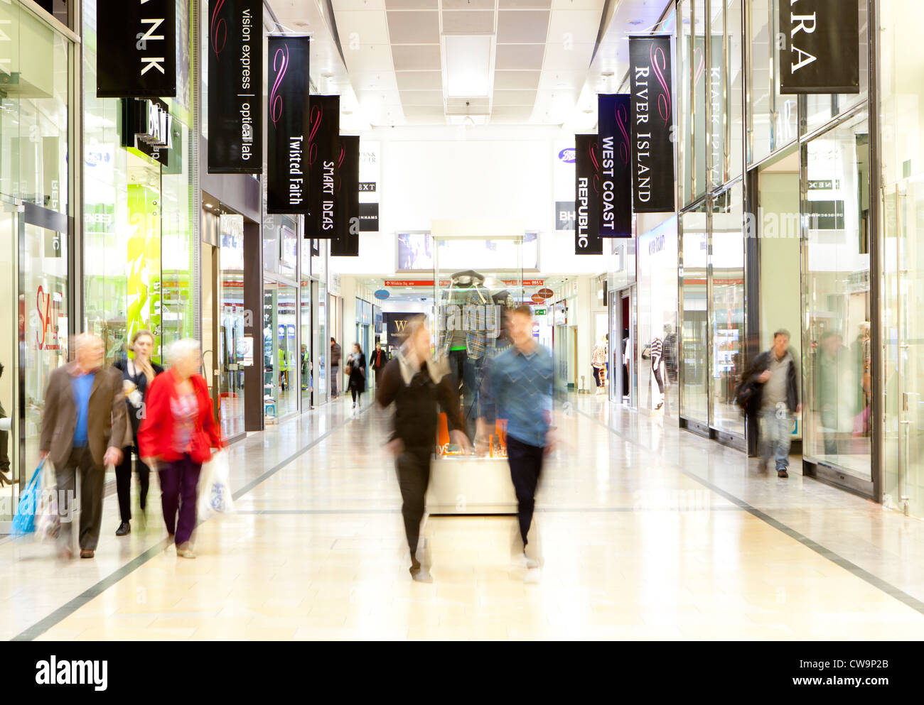 Telford Shopping Centre, Telford, Shropshire - Stock Image