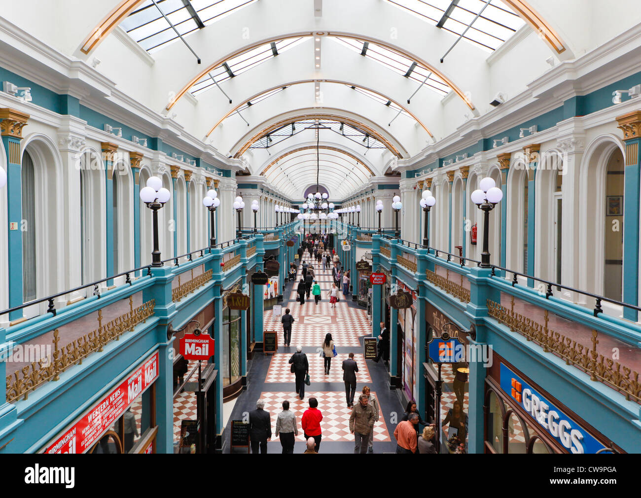 Great Western Arcade, Birmingham, West Midlands, England, UK Stock Photo