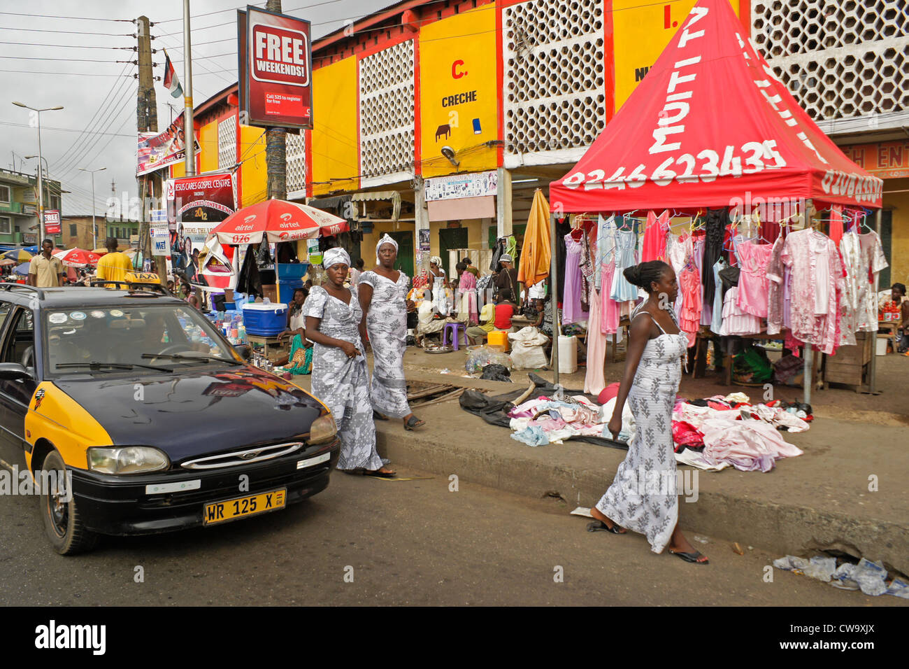 Ghana Taxi Stock Photos & Ghana Taxi Stock Images - Alamy