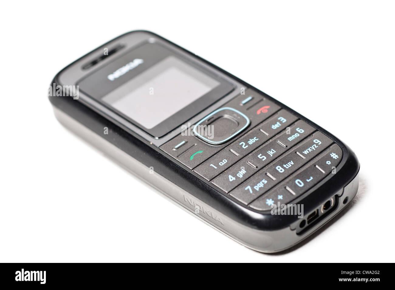Basic mobile phone - Stock Image