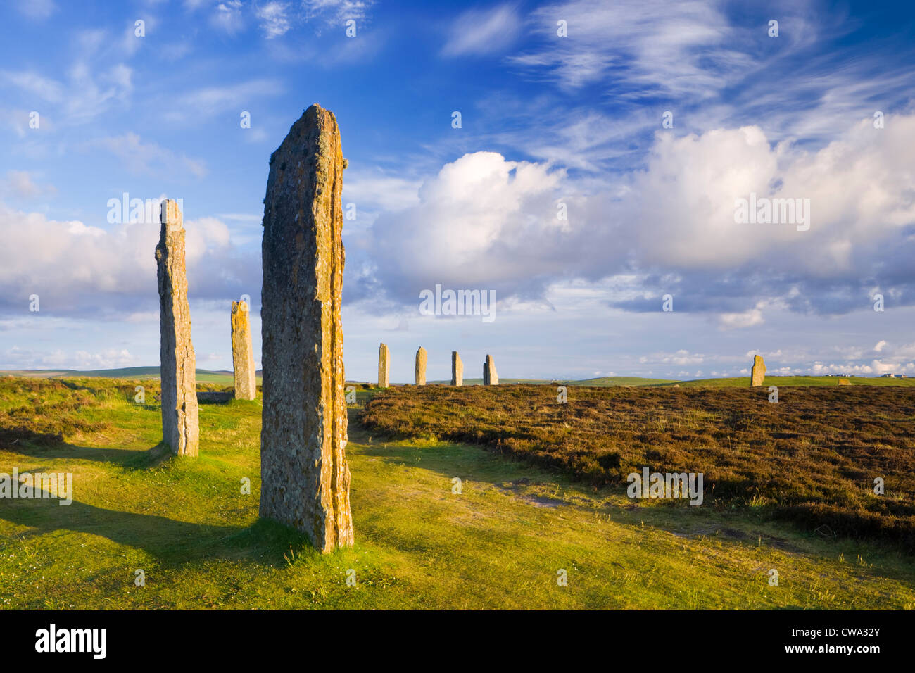 Ring of Brodgar, Orkney, Scotland, UK. - Stock Image