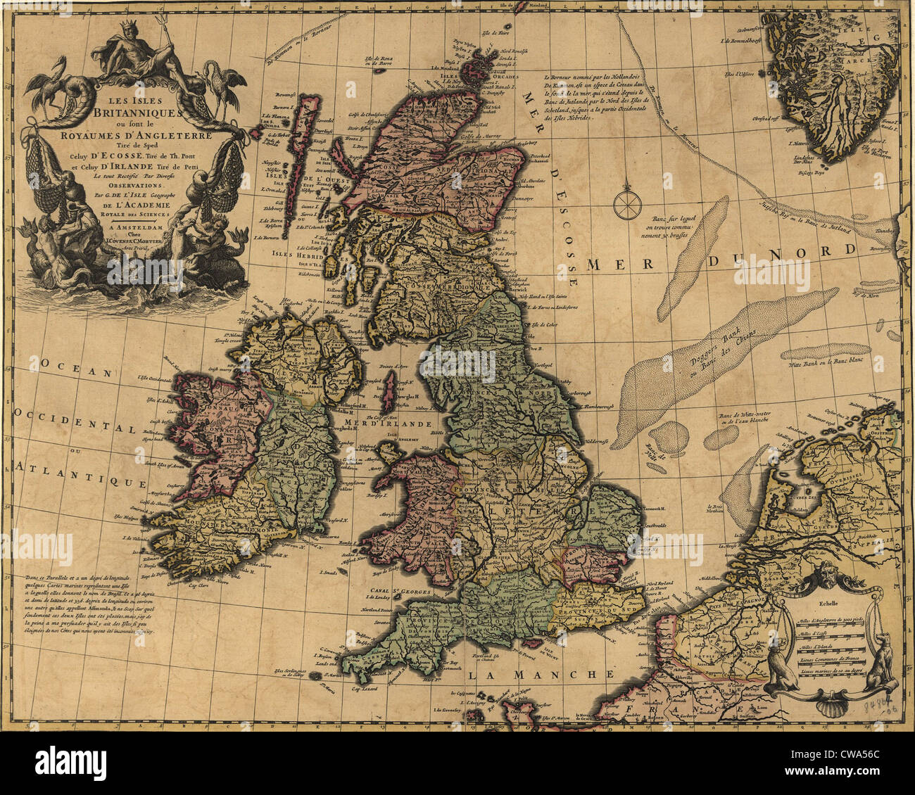 18th Century Map Stock Photos 18th Century Map Stock Images Alamy