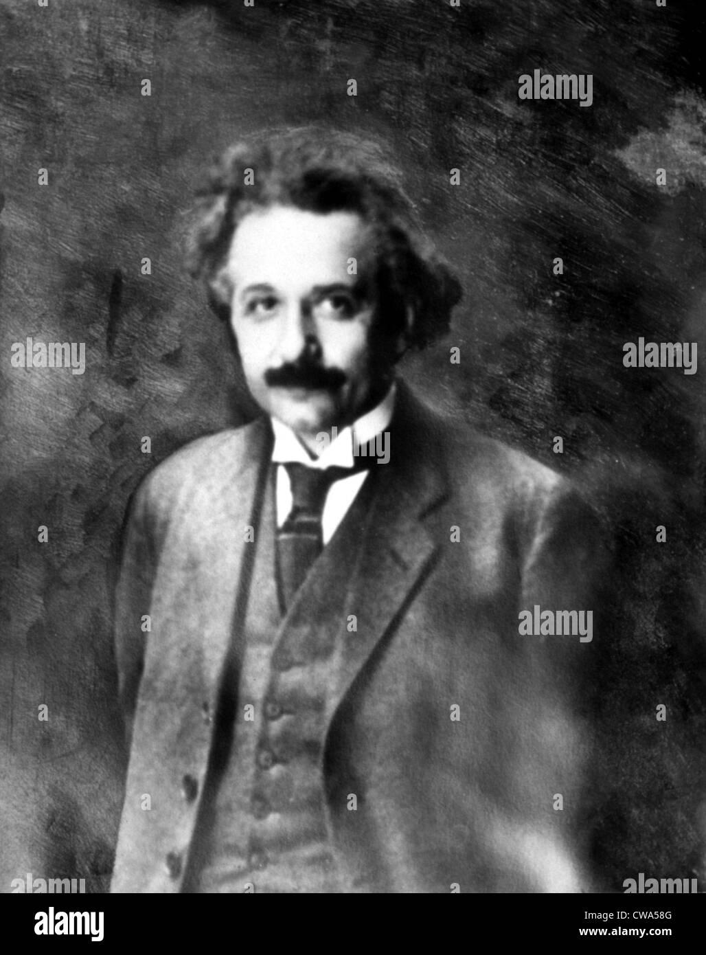 Albert Einstein. Courtesy: CSU Archives / Everett Collection - Stock Image