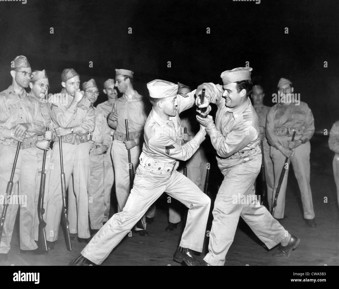 U.S. Army training, 1940's.. Courtesy: CSU Archives / Everett Collection - Stock Image