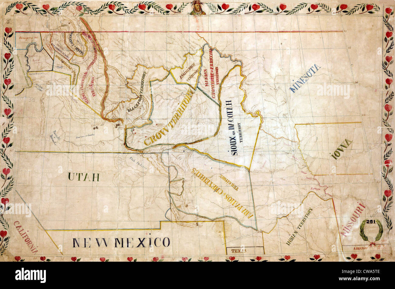 Great Plains Map Stock Photos & Great Plains Map Stock Images - Alamy