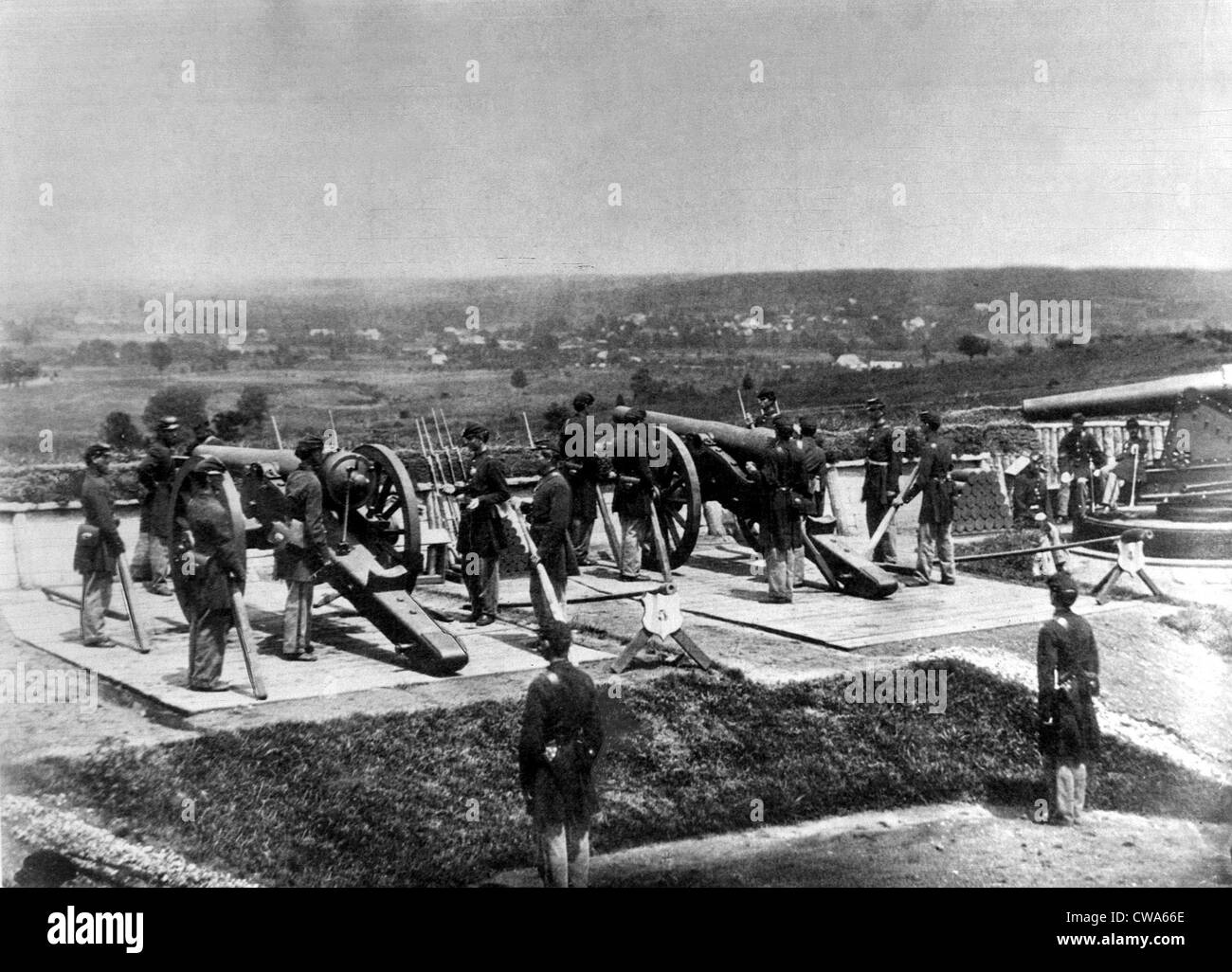 CIVIL WAR-Fort Lincoln. Courtesy: CSU Archives / Everett Collection - Stock Image