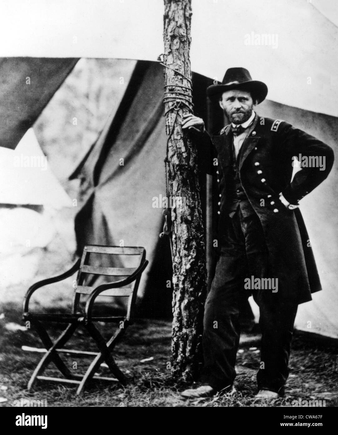 CIVIL WAR--Ulysses S. Grant. Courtesy: CSU Archives / Everett Collection - Stock Image