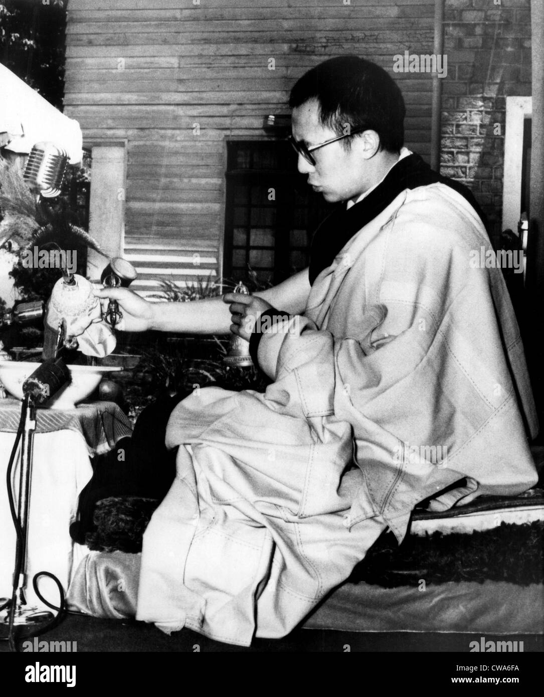 Dalai Lama, May, 27, 1959. Courtesy: CSU Archives / Everett Collection Stock Photo
