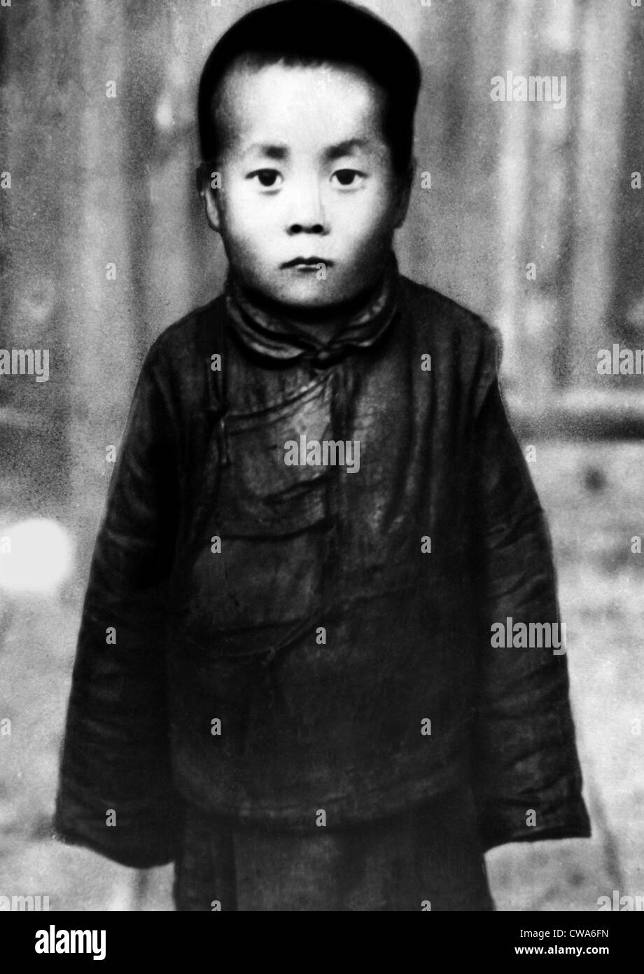 Tenzin Gyatso before being made the Dalai Lama, 1940. Courtesy: CSU Archives/Everett Collection - Stock Image