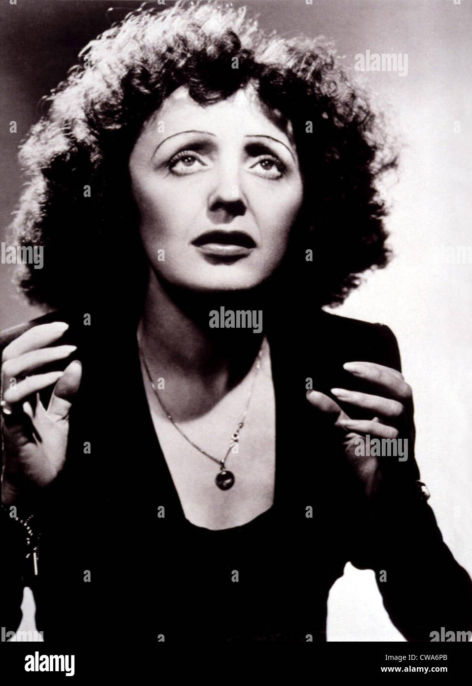 EDITH PIAF, c. mid 1940s. Courtesy: CSU Archives / Everett Collection - Stock Image