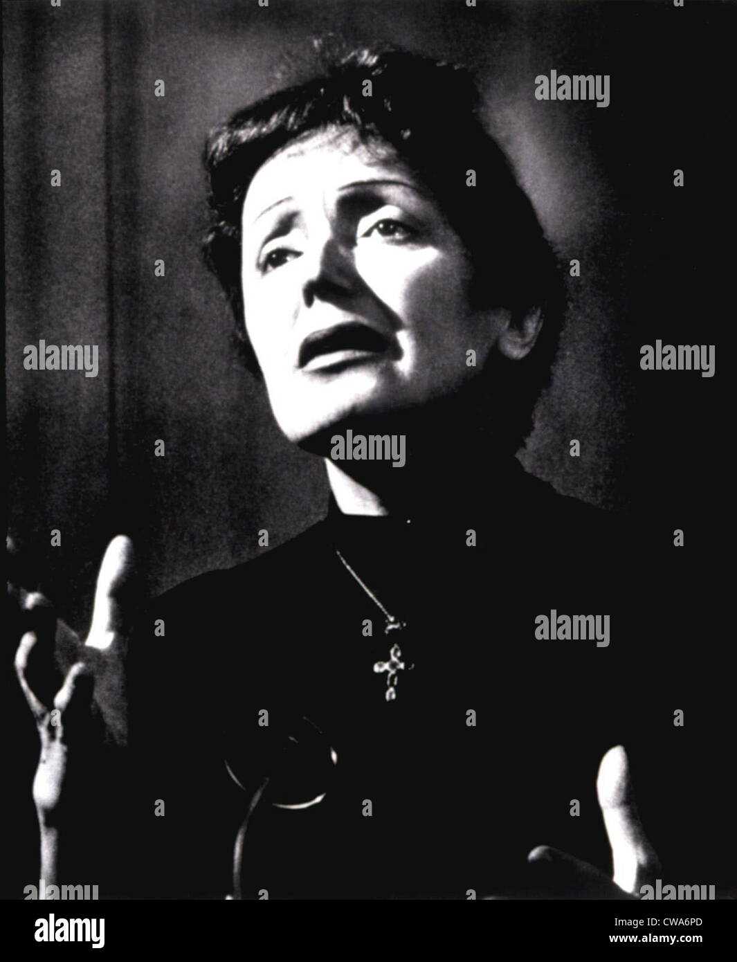 EDITH PIAF, c. 1954. Courtesy: CSU Archives / Everett Collection - Stock Image
