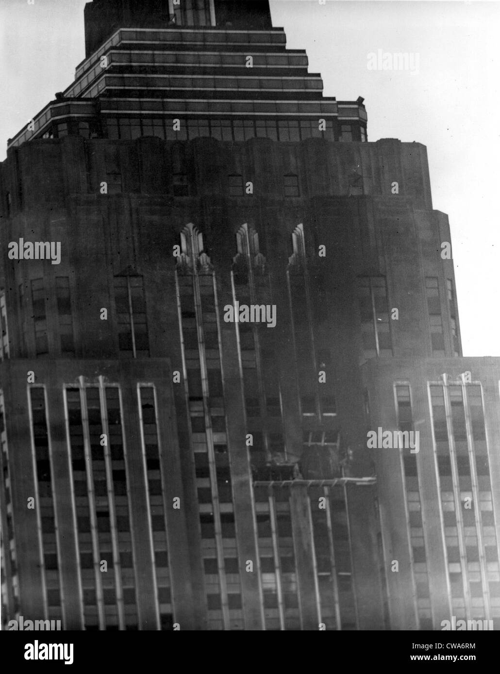 NEW YORK--This is how the south side wall of the Empire State Building in New York appears the day after an Army - Stock Image