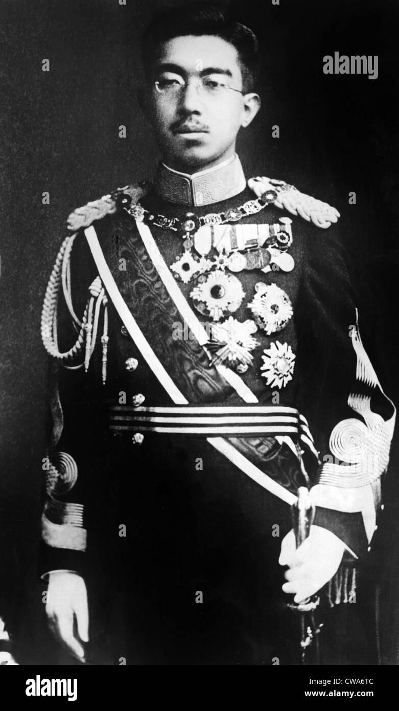 EMPEROR HIROHITO, of Japan, portrait circa 1920s. Courtesy: CSU Archives / Everett Collection - Stock Image