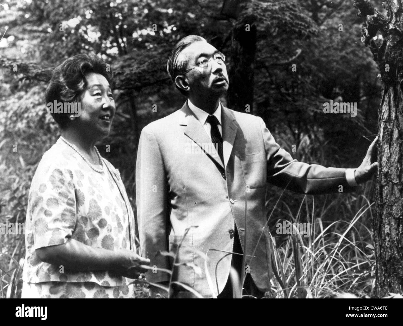 EMPRESS NAGAKO and EMPEROR HIROHITO, c. early 1960s. Courtesy: CSU Archives / Everett Collection - Stock Image