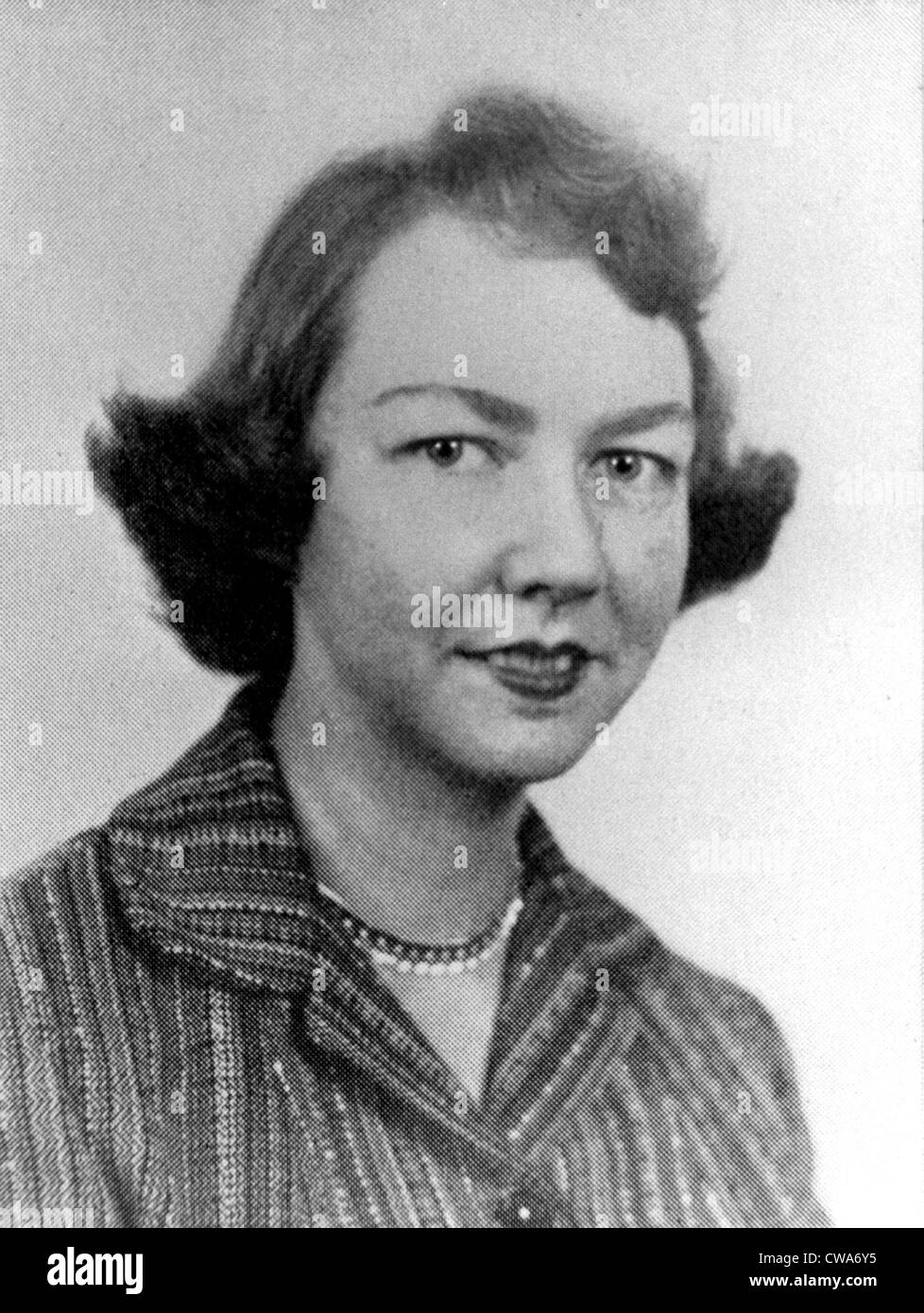 Flannery O'Connor, author. Courtesy: CSU Archives / Everett Collection - Stock Image
