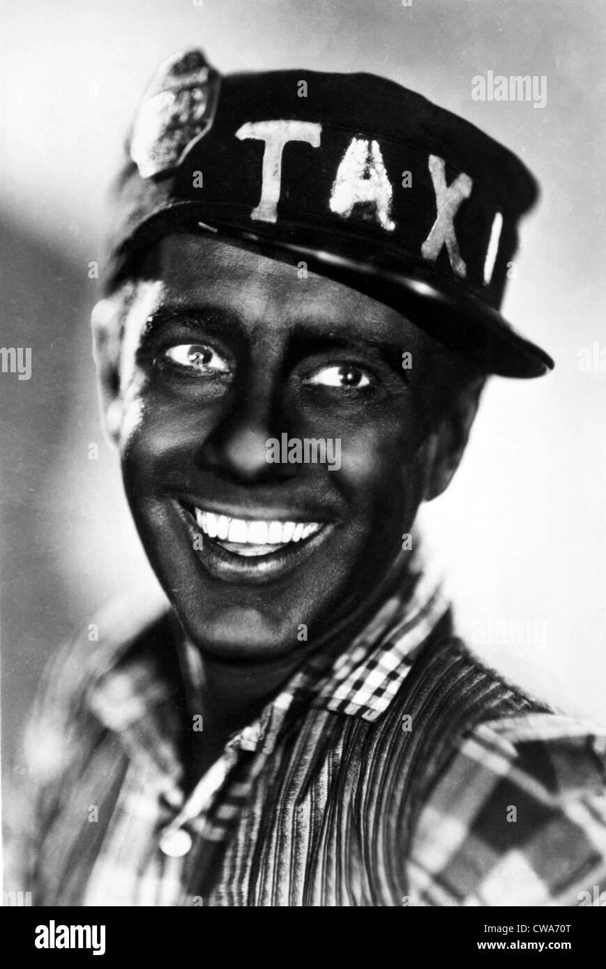 Freeman Gosden as Amos of AMOS 'N' ANDY, circa 1930. Courtesy: CSU Archives / Everett Collection - Stock Image