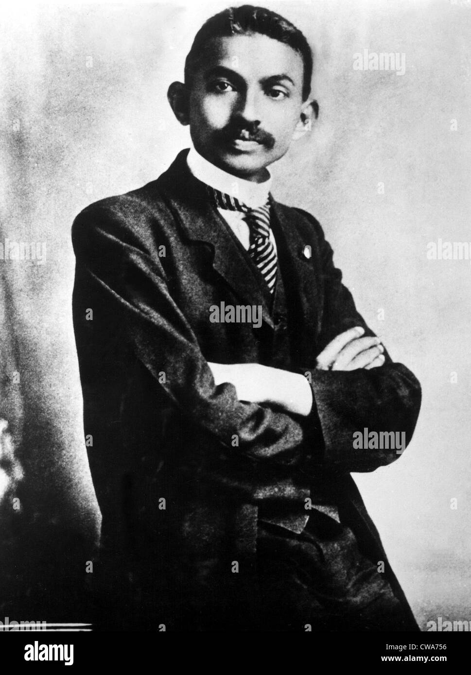 GANDHI as a Barrister, October 2, 1906.. Courtesy: CSU Archives / Everett Collection - Stock Image