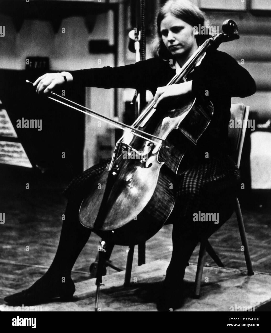 Jacqueline du Pre, 1967. Courtesy: CSU Archives/Everett Collection - Stock Image