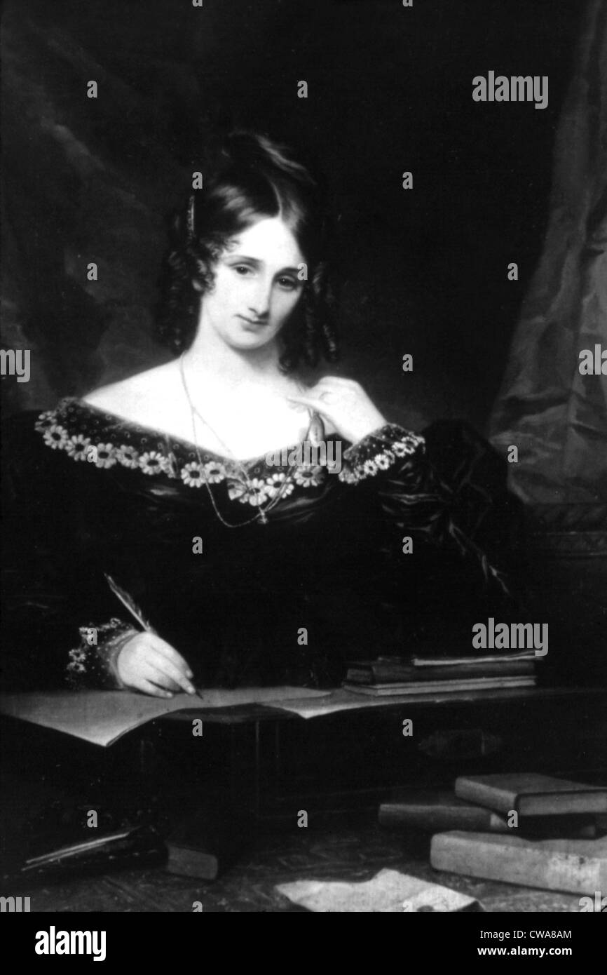 Mary Shelley. Courtesy: CSU Archives / Everett Collection - Stock Image