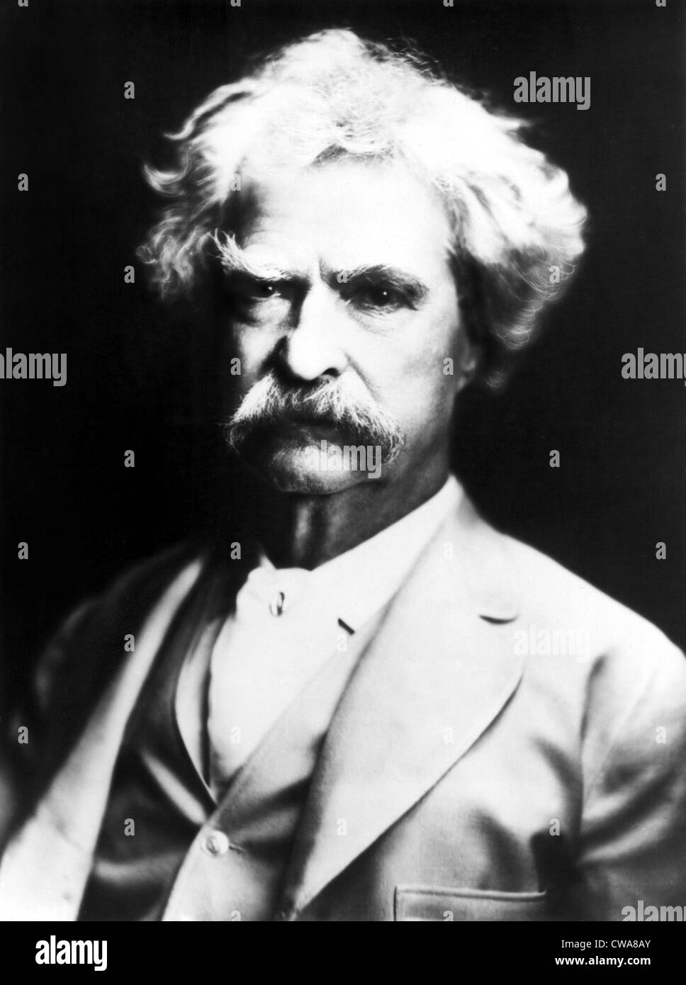 Mark Twain. Courtesy: CSU Archives / Everett Collection - Stock Image