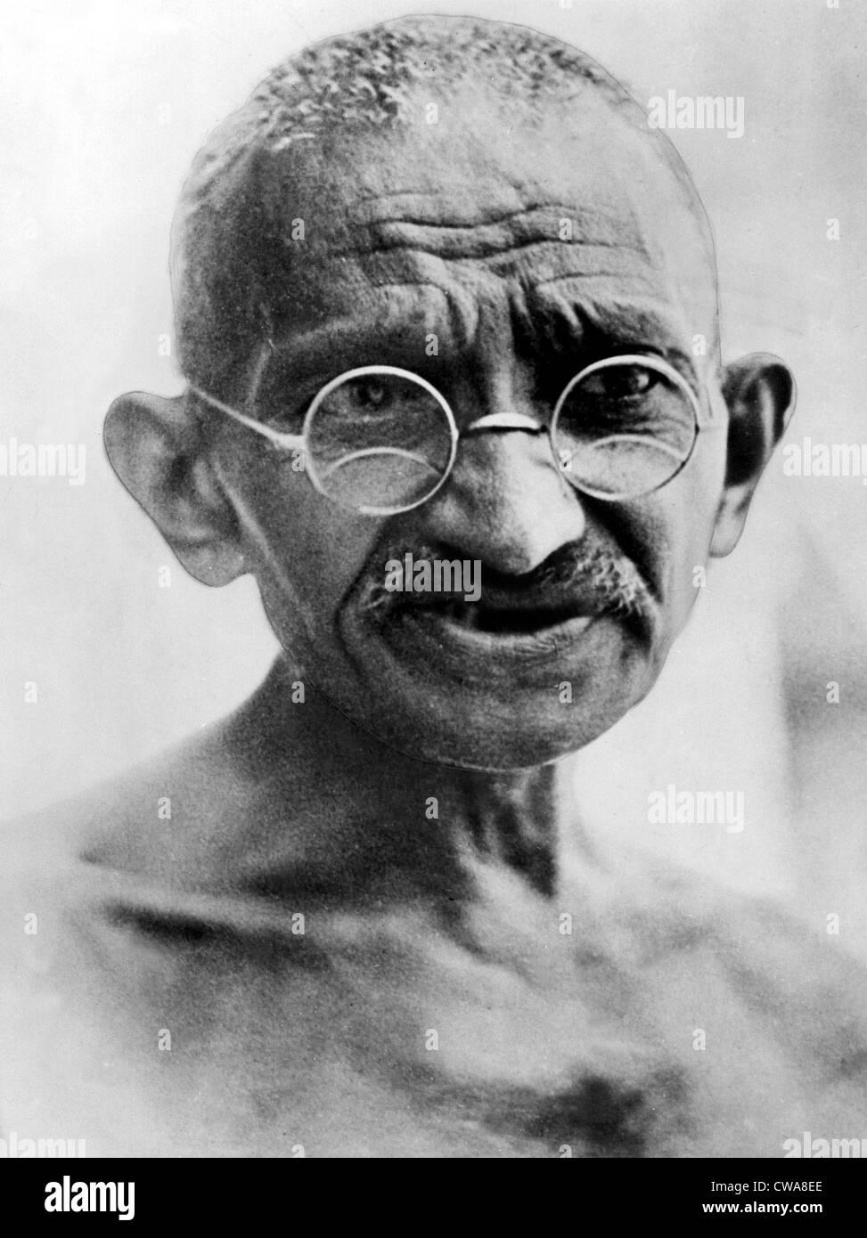 Mahatma Gandhi in 1931. - Stock Image