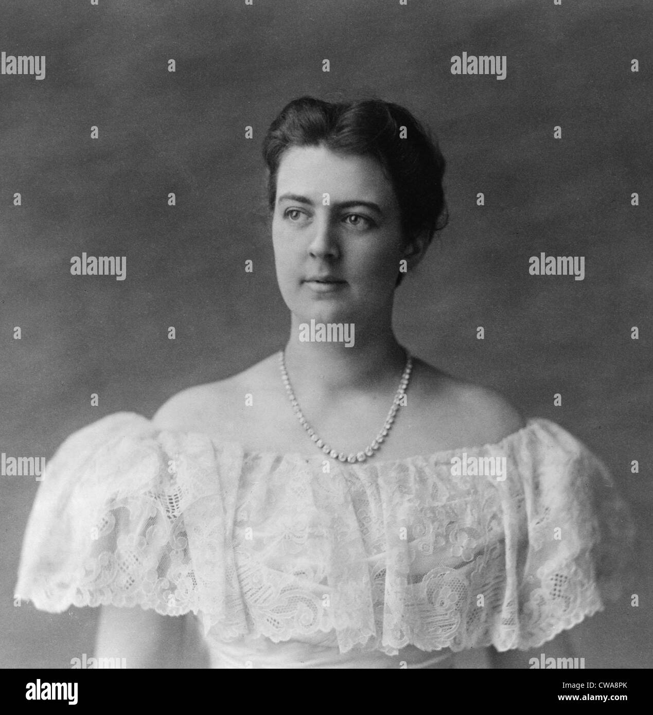 Frances Folsom Cleveland 1864 1947 The Youngest First Lady Married Stock Photo Alamy