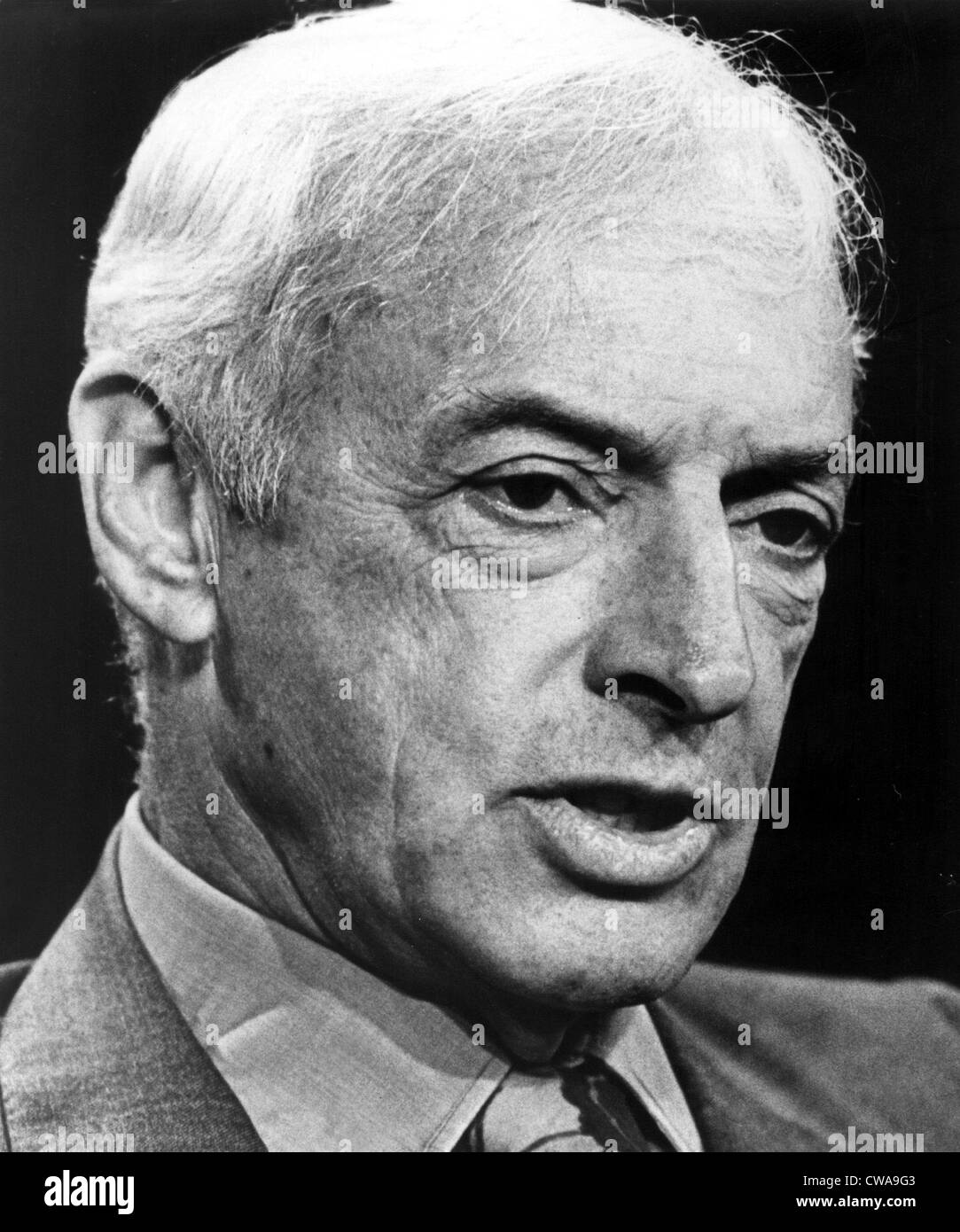 Saul Bellow-1975.. Courtesy: CSU Archives / Everett Collection - Stock Image
