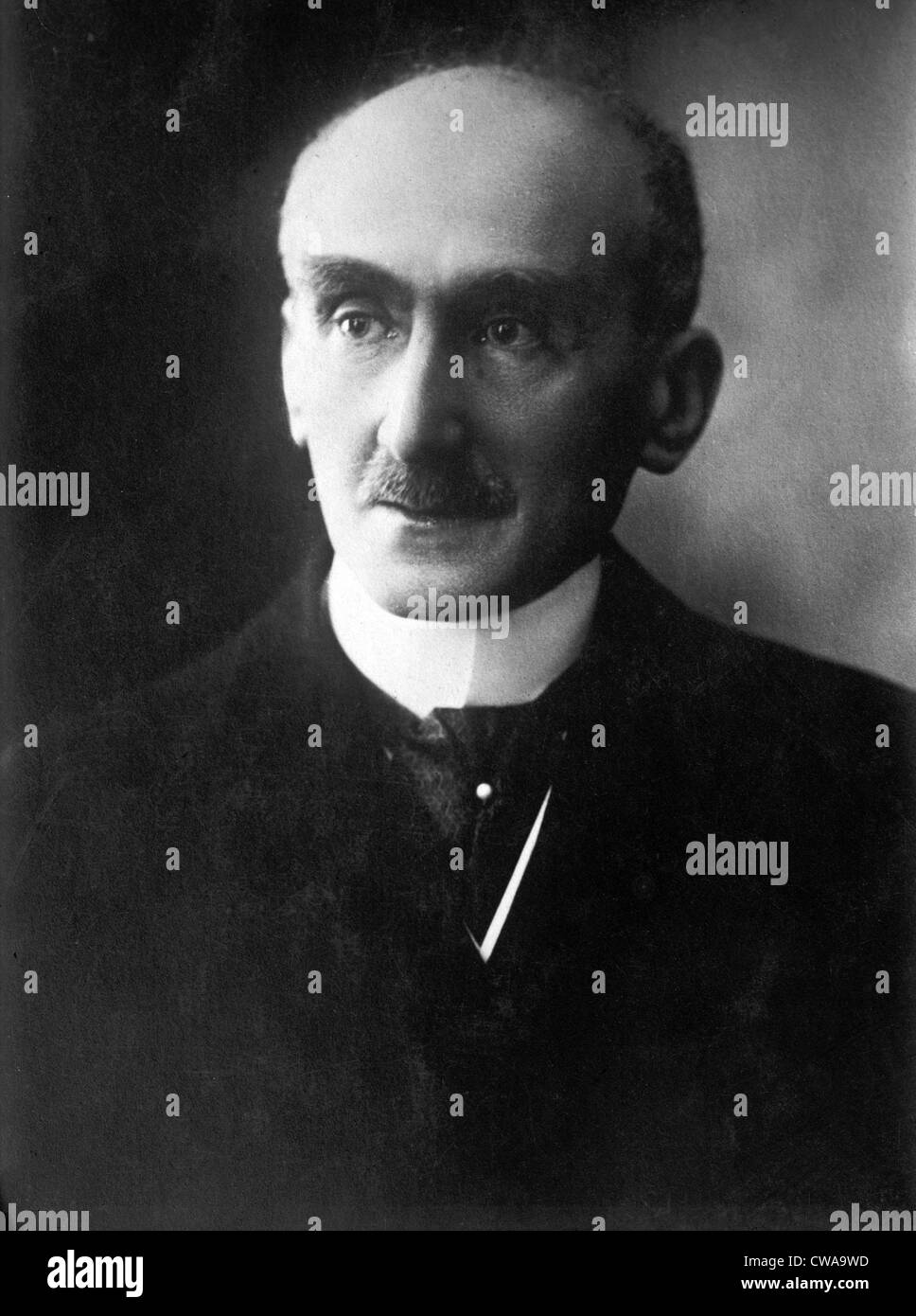 Henri Bergson, (1859-1941) French philosopher who won the Nobel Prize for Literature in 1927. 1925 photo by Henri - Stock Image