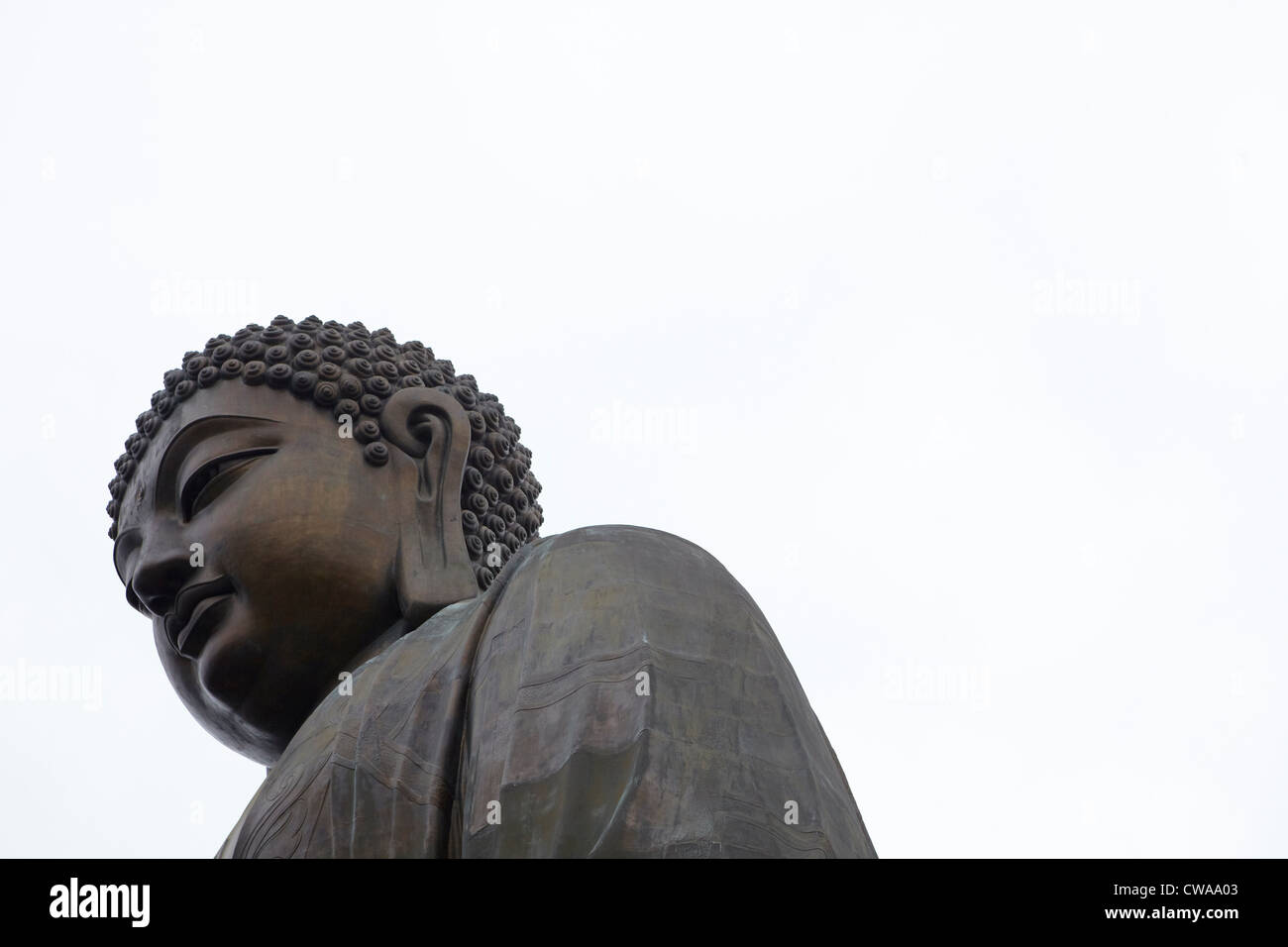 Tian tan buddha, hong kong, china - Stock Image