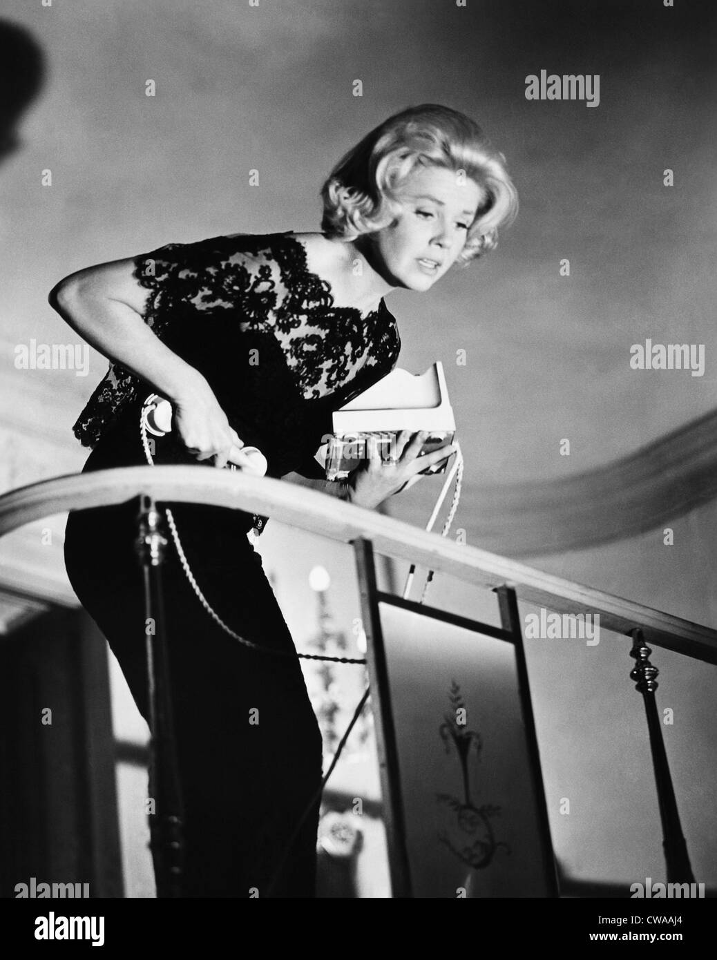MIDNIGHT LACE, Doris Day, 1960. Courtesy: CSU Archives / Everett Collection - Stock Image