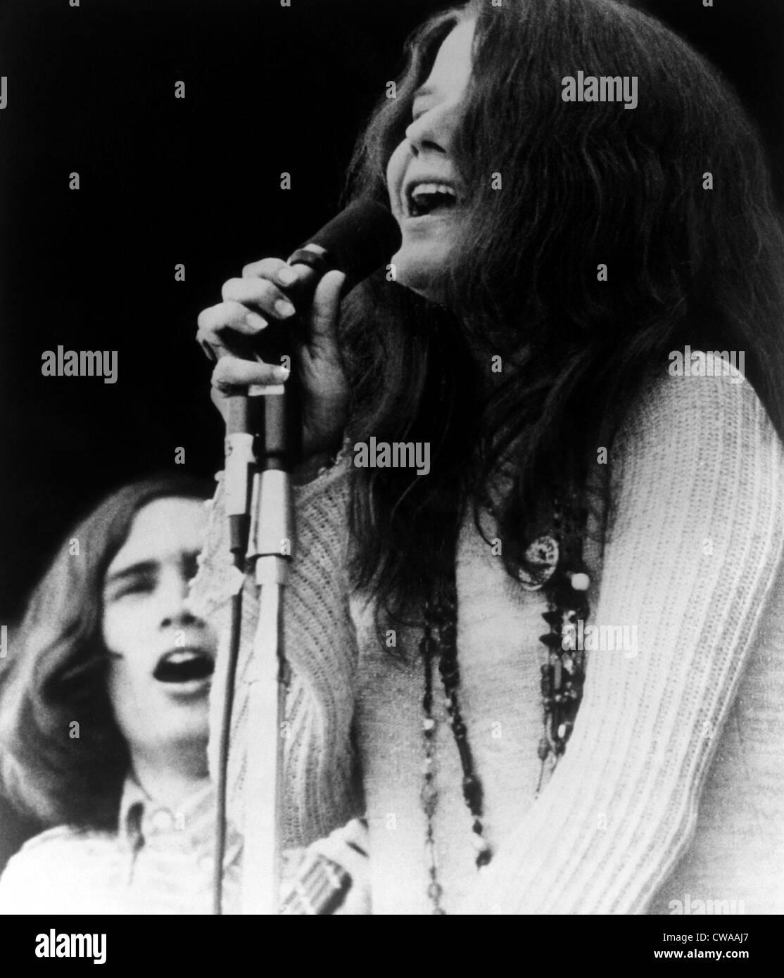 MONTEREY POP, Janis Joplin, 1968. Courtesy: CSU Archives/Everett Collection - Stock Image