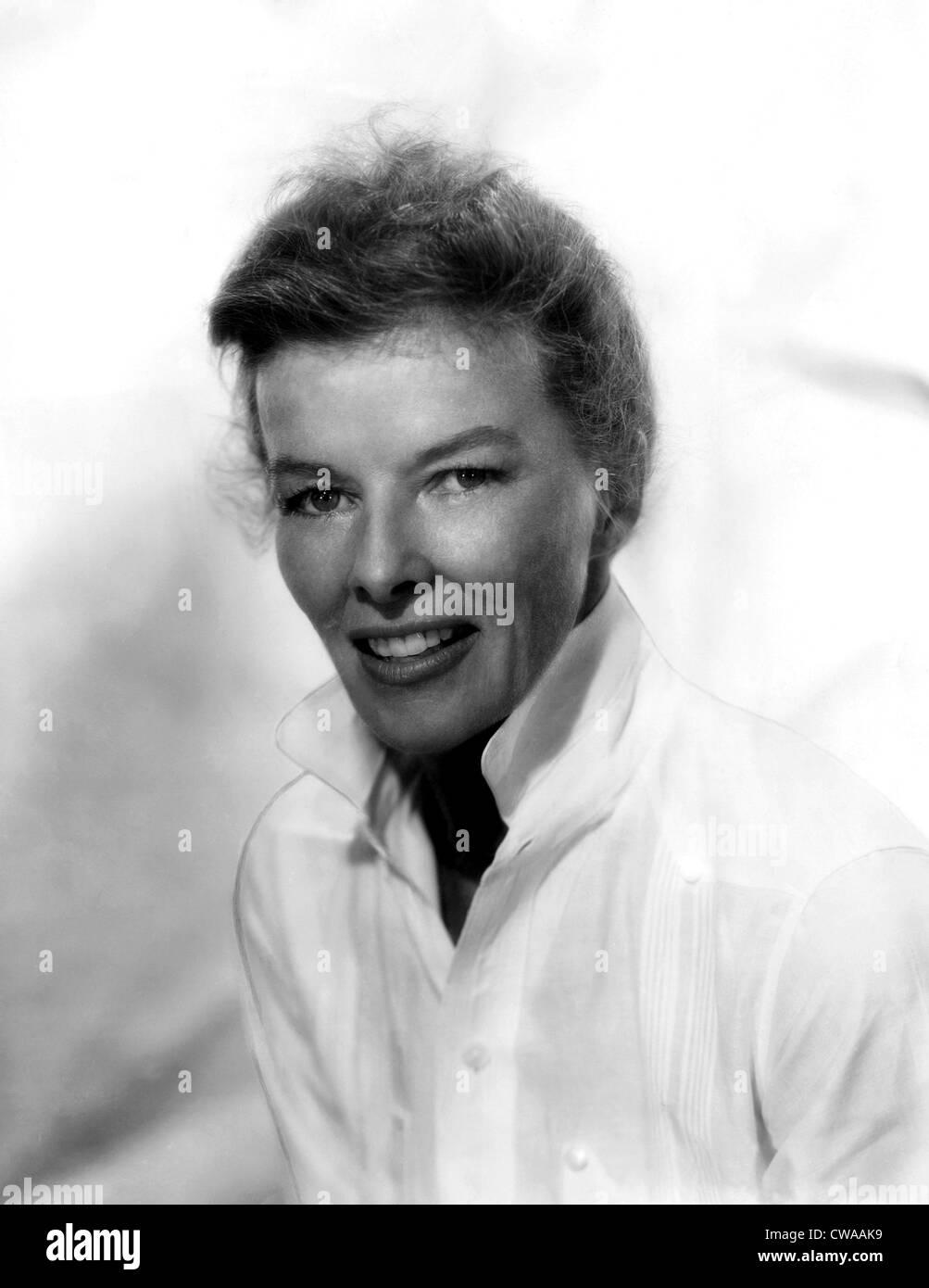 THE RAINMAKER, Katharine Hepburn, 1956. Courtesy: CSU Archives/Everett Collection - Stock Image