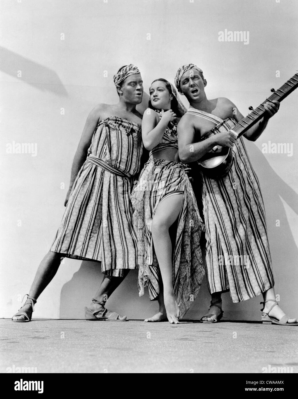 ROAD TO SINGAPORE, Bob Hope, Dorothy Lamour, Bing Crosby, 1940.. Courtesy: CSU Archives / Everett Collection - Stock Image